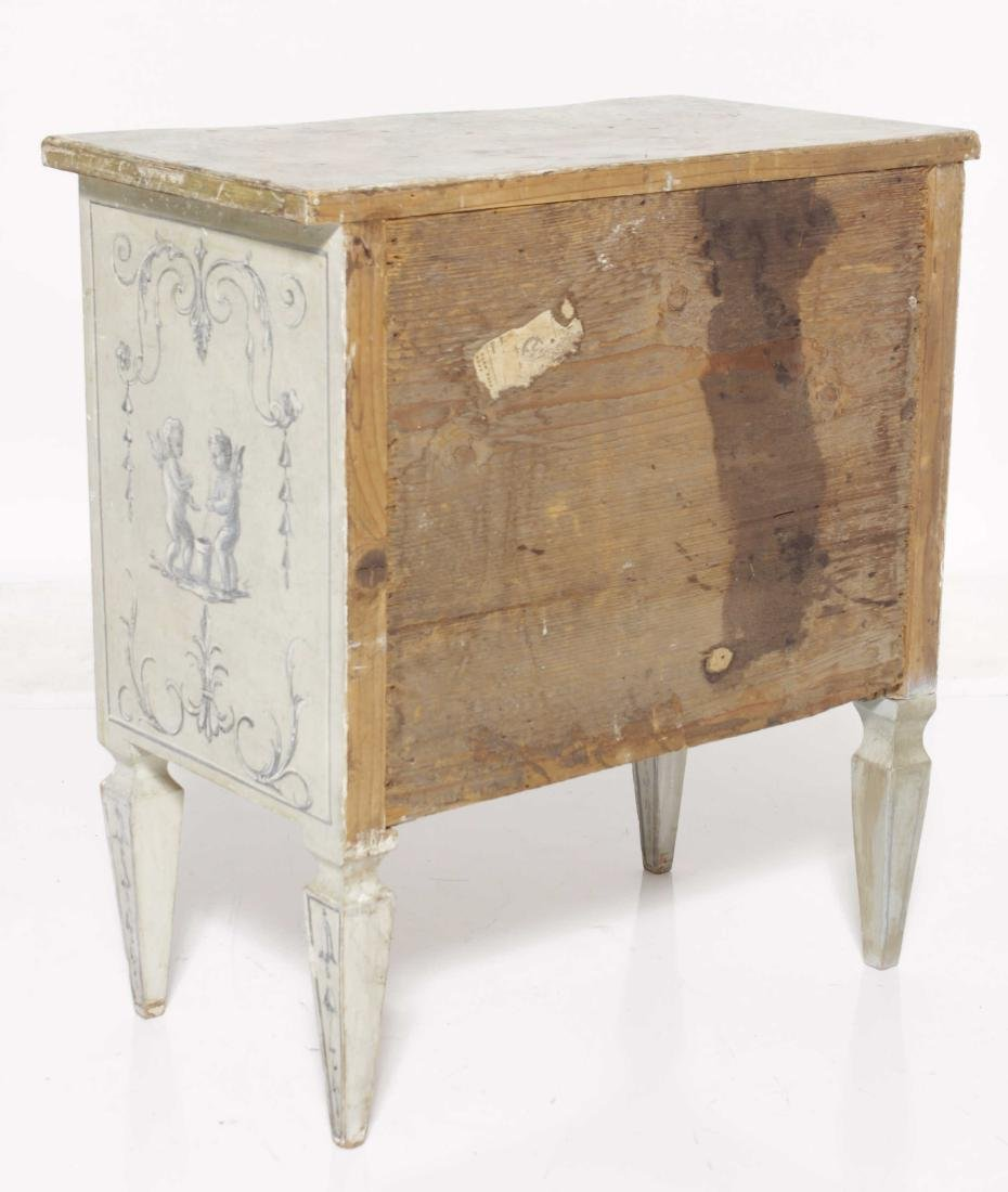 Painted Italian Louis XV Style Commode - 7