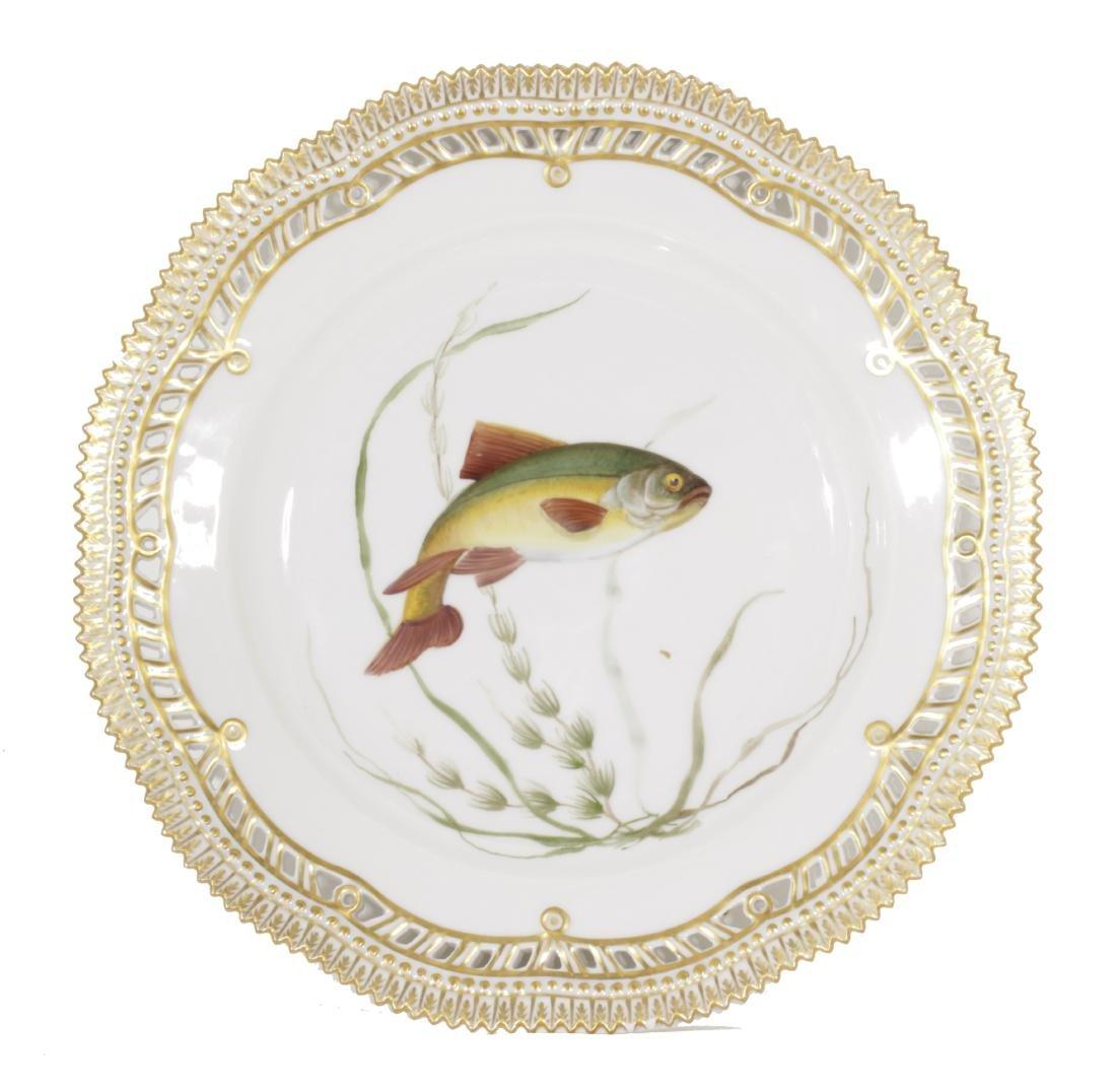 Royal Copenhagen Reticulated Dinner Plate