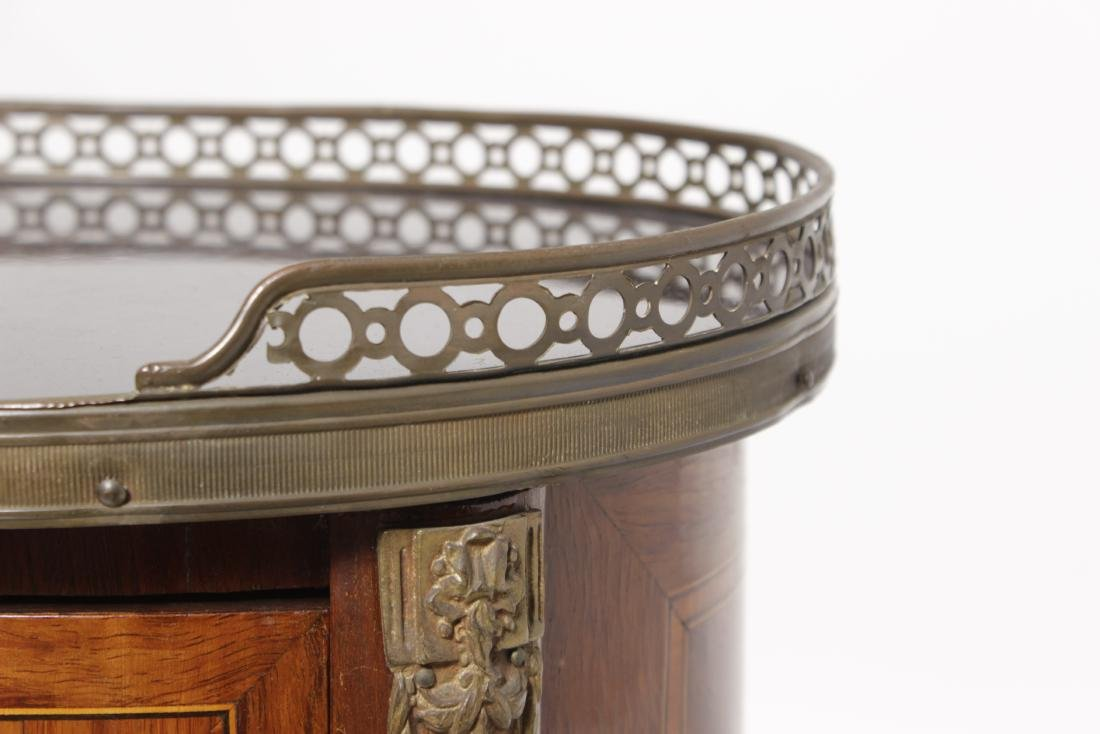 Louis XV Style Marquetry Side Table - 6