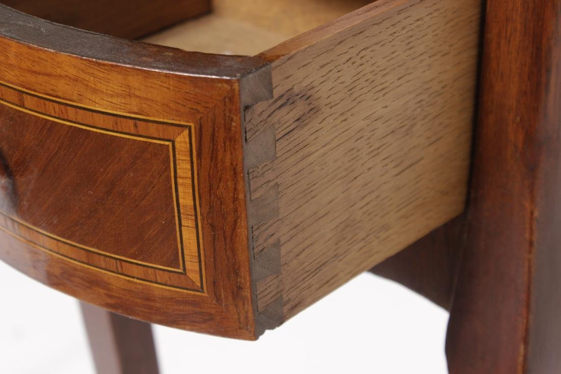 Louis XV Style Marquetry Side Table - 7