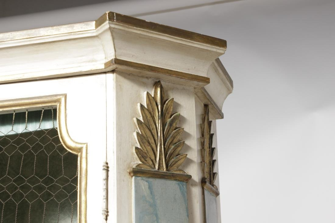 Hollywood Regency Painted Bookcase - 3