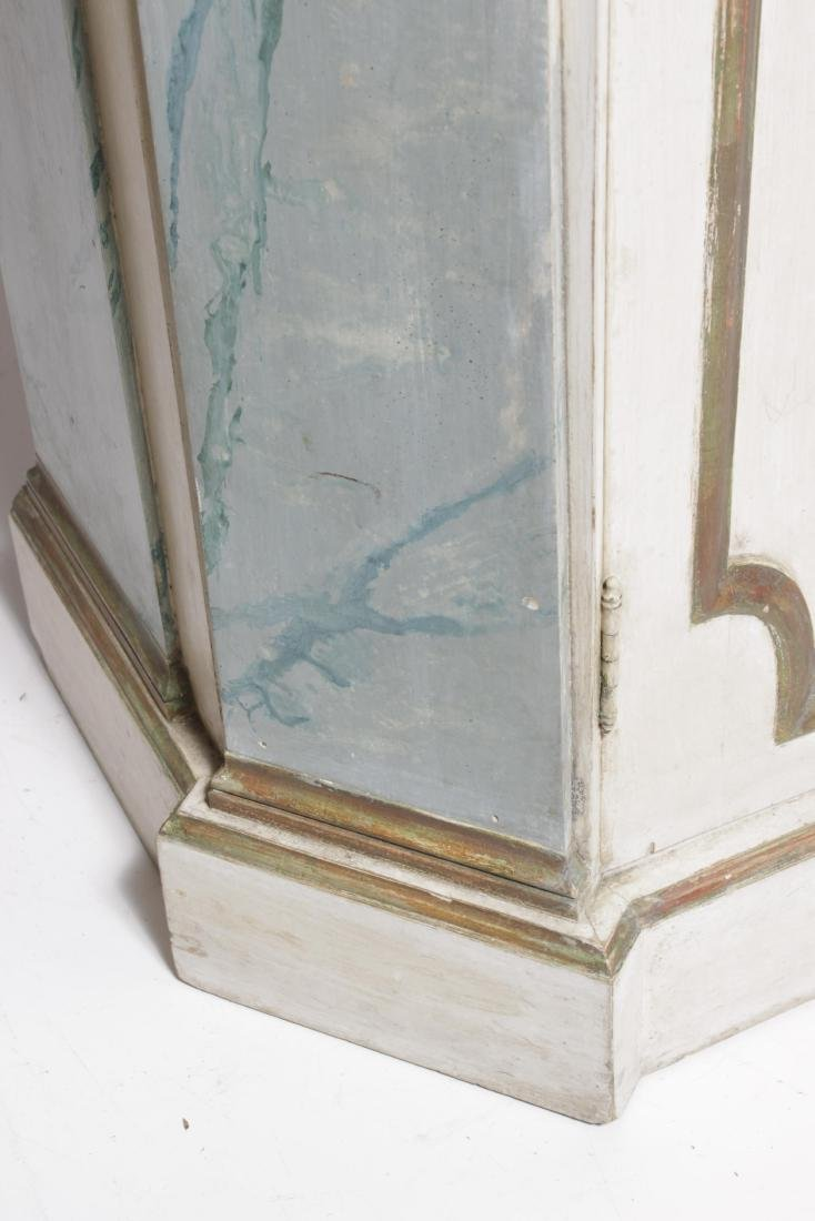 Hollywood Regency Painted Bookcase - 5