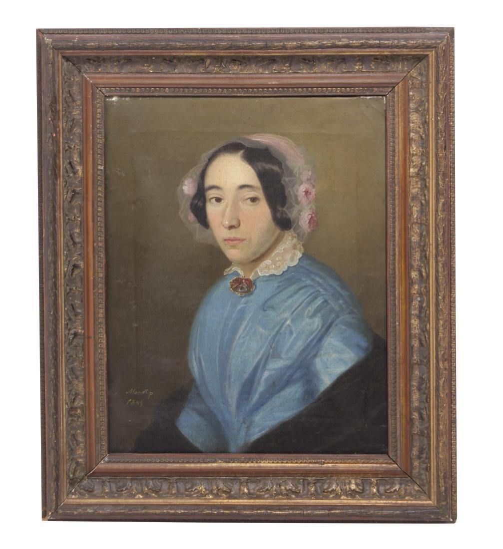 Restauration Period Portrait of a Women