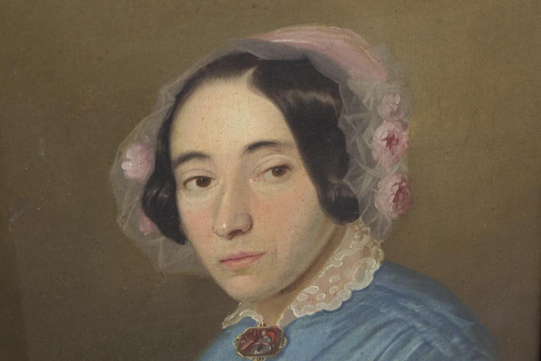 Restauration Period Portrait of a Women - 2