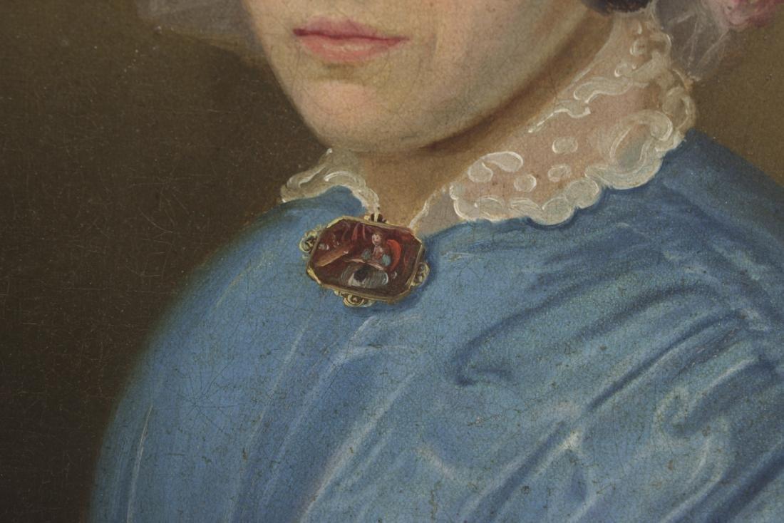Restauration Period Portrait of a Women - 3