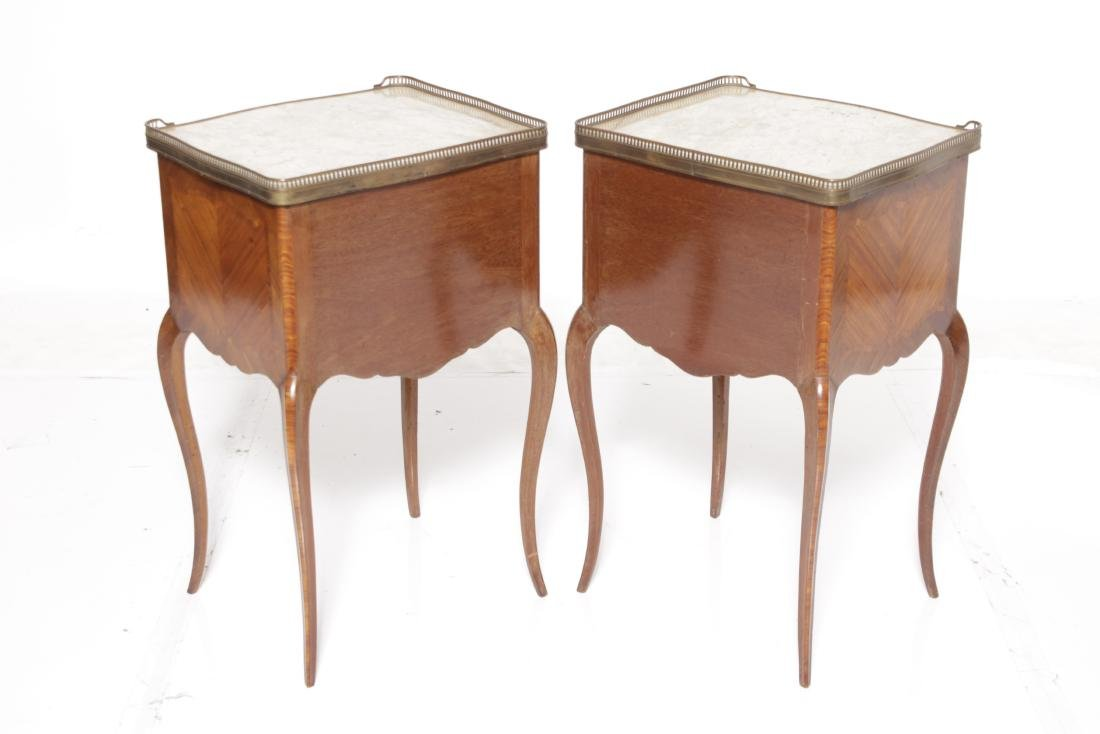 Louis XV Style Complementary Bedside Cabinets - 7