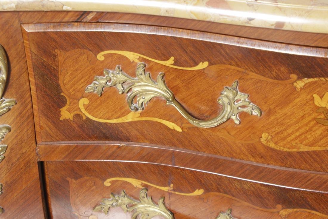 Louis XV Style Commode w/ Bronze Mounts - 2