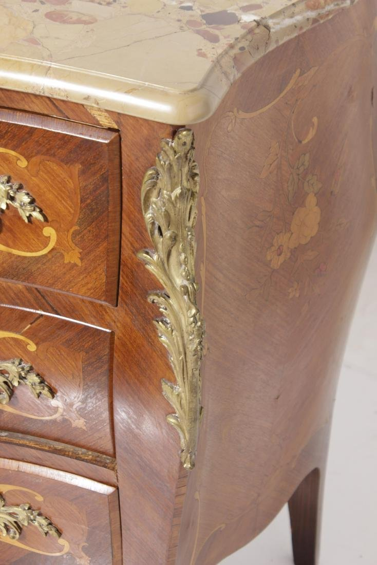 Louis XV Style Commode w/ Bronze Mounts - 3