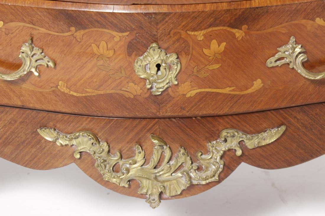 Louis XV Style Commode w/ Bronze Mounts - 4