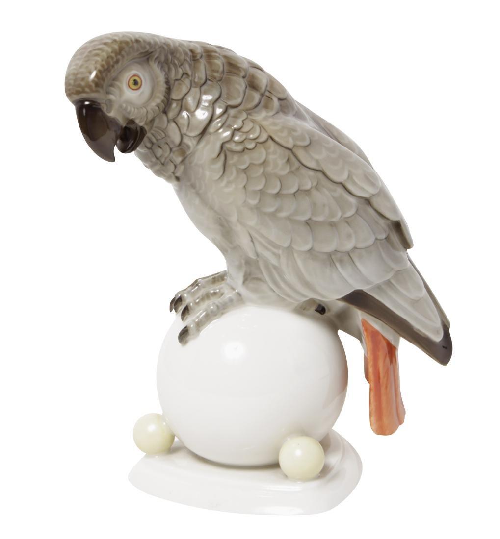 Hutschenreuther Porcelain Parrot