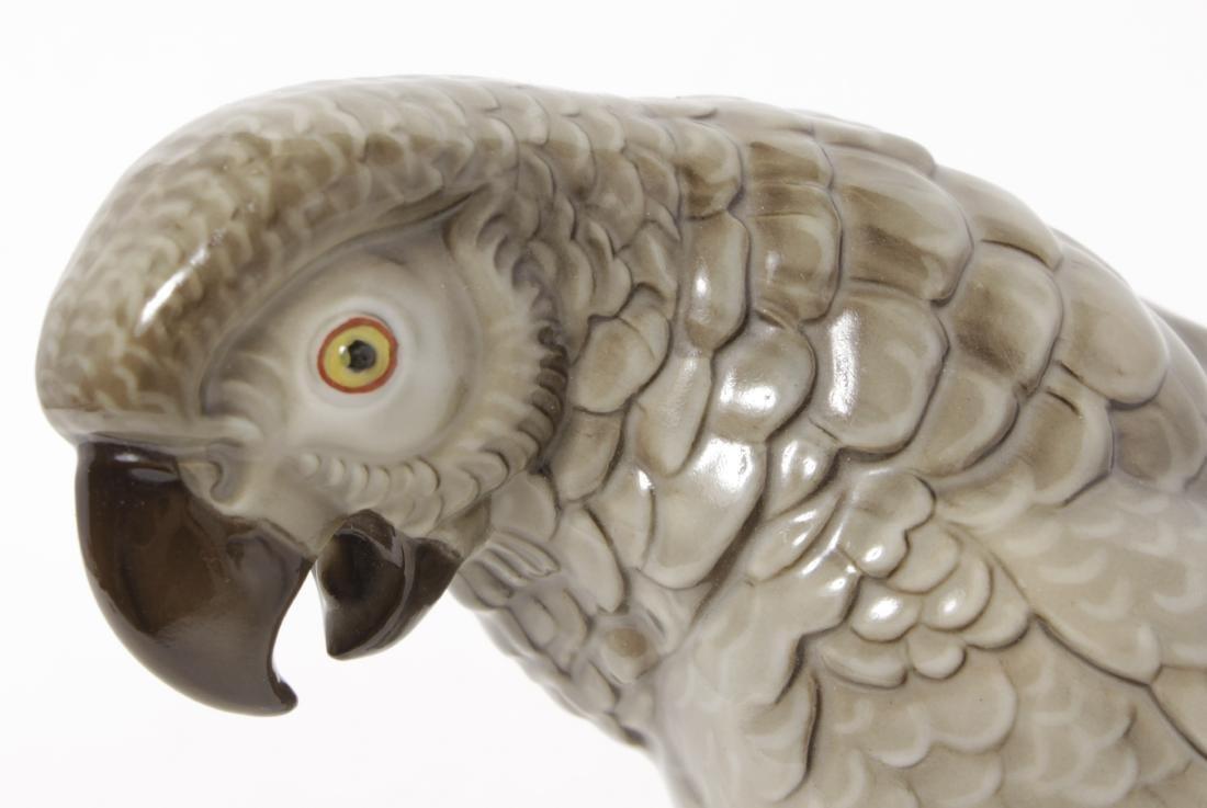 Hutschenreuther Porcelain Parrot - 2