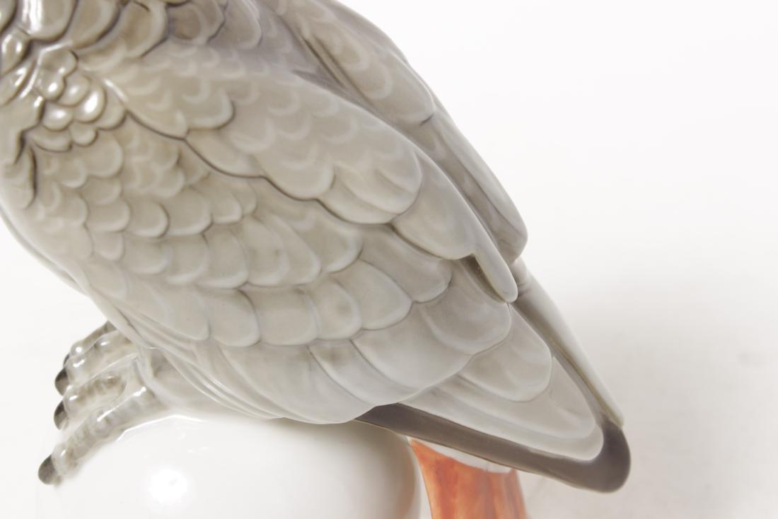 Hutschenreuther Porcelain Parrot - 3