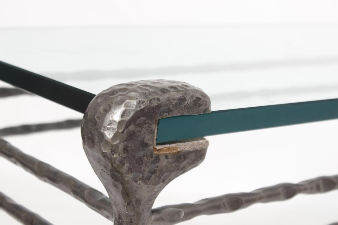 Giacometti Style Bronze Sofa Table - 2