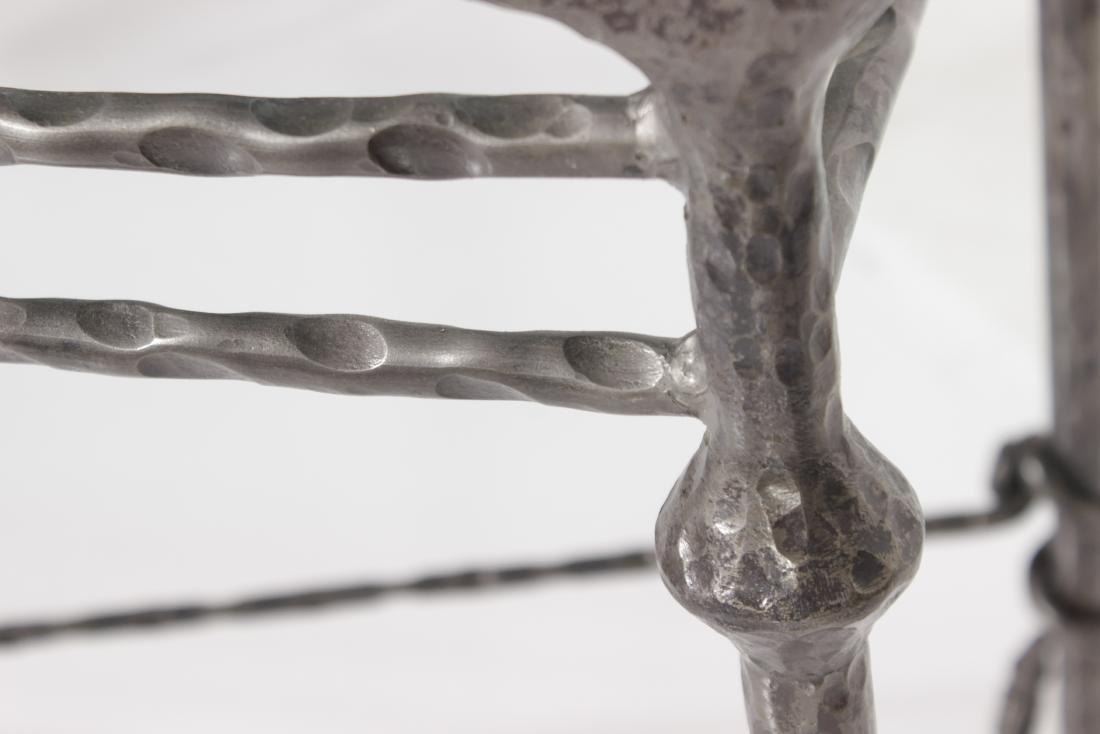 Giacometti Style Bronze Sofa Table - 5