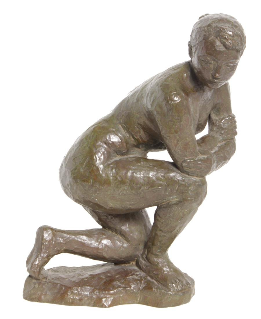 Aristide J Maillol (French, 1861-1944) Bronze