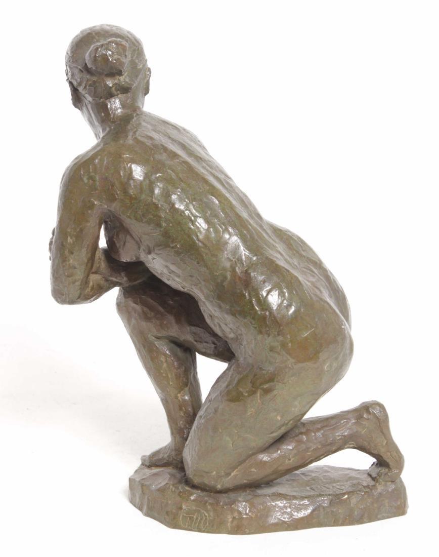 Aristide J Maillol (French, 1861-1944) Bronze - 4