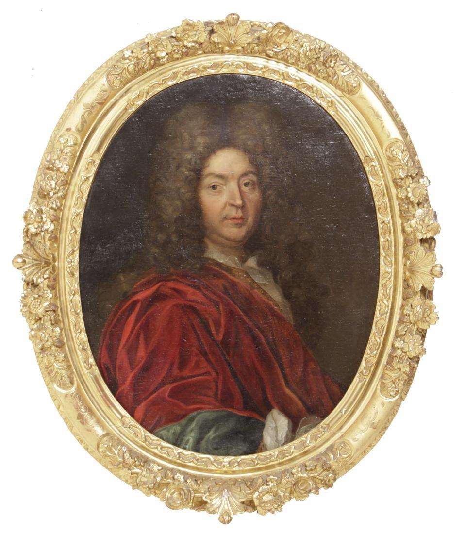 School of Rigaud, Portrait of an Aristocrat