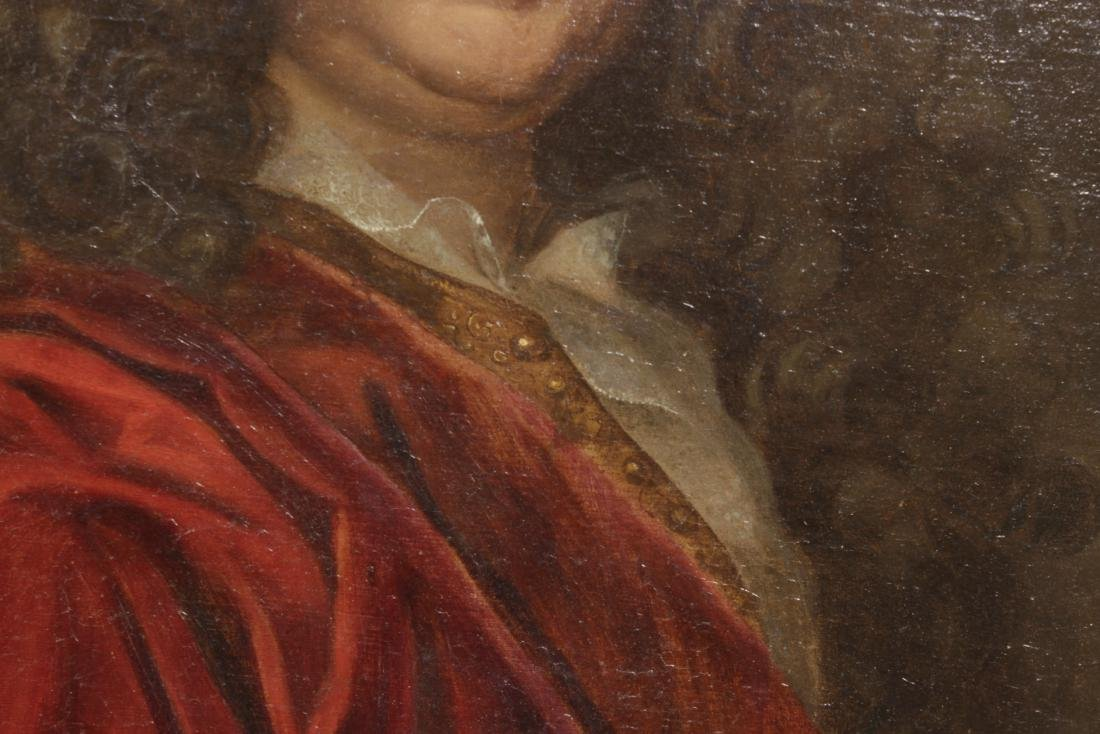 School of Rigaud, Portrait of an Aristocrat - 4