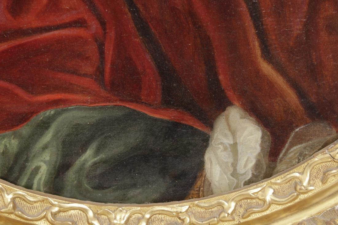 School of Rigaud, Portrait of an Aristocrat - 5