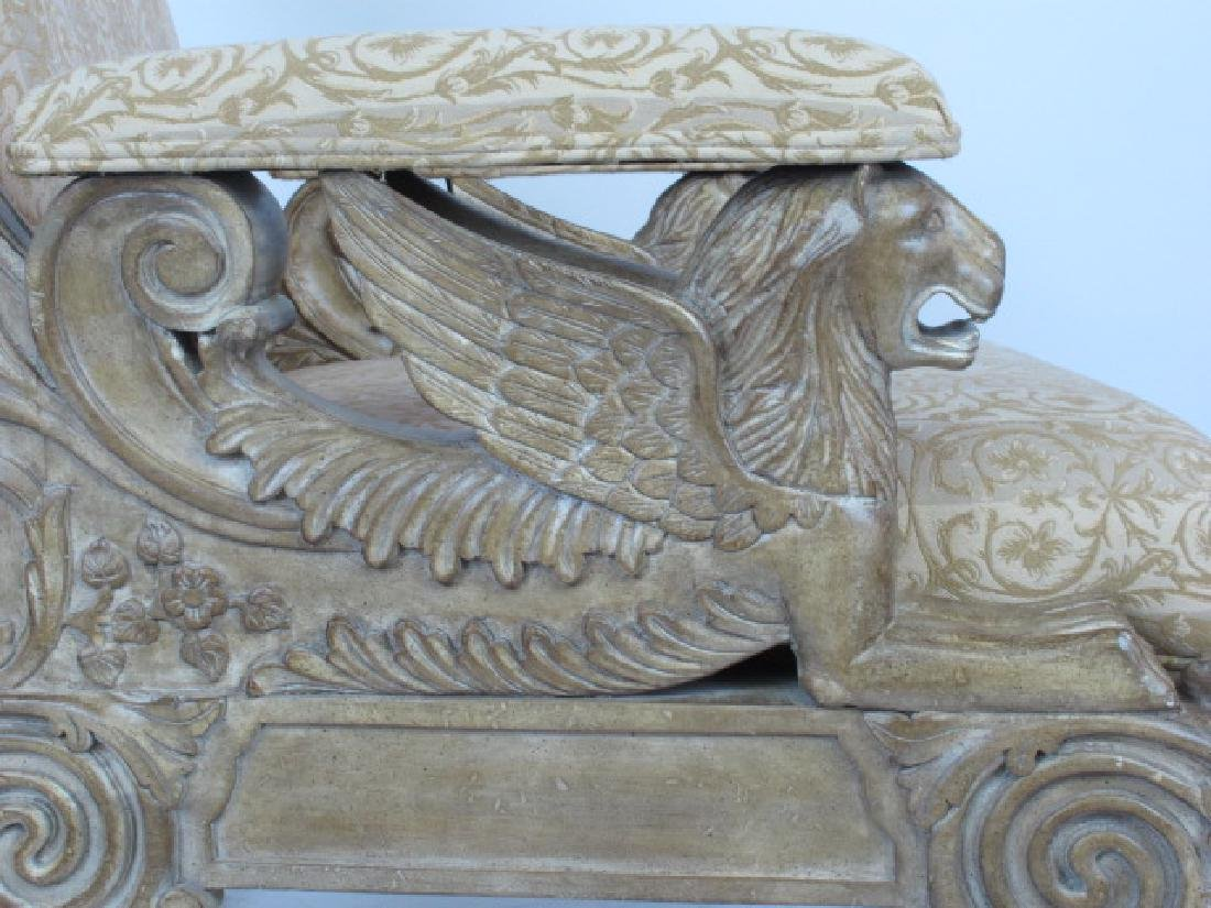 Pair Carved Arm Chairs - 3