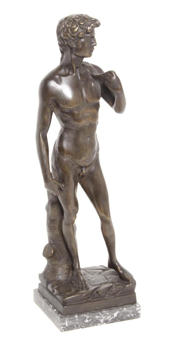 Michelangelo's David, Grand Tour Bronze