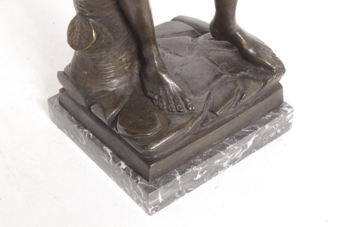 Michelangelo's David, Grand Tour Bronze - 3