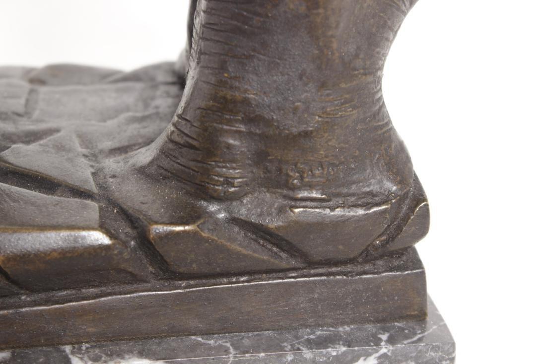 Michelangelo's David, Grand Tour Bronze - 4