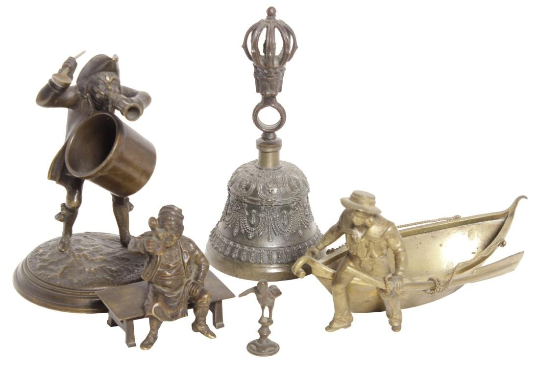 Group of Miniature Bronzes