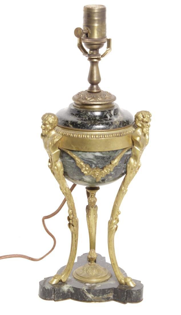 Louis XVI Style Bronze Lamp