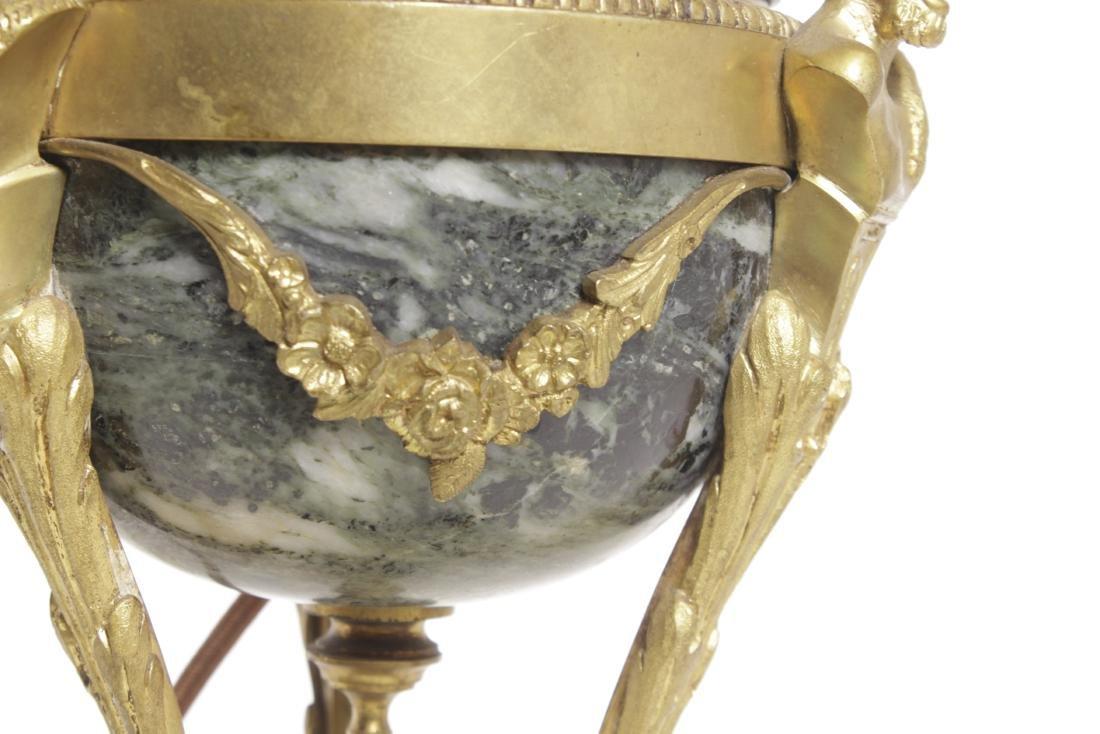 Louis XVI Style Bronze Lamp - 4