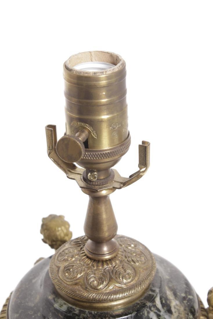 Louis XVI Style Bronze Lamp - 5