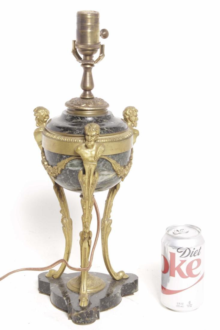 Louis XVI Style Bronze Lamp - 7
