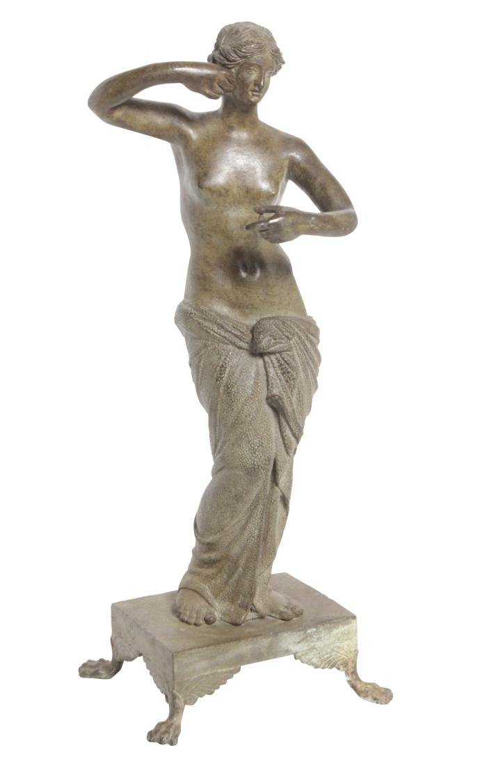 Grand Tour Bronze Woman
