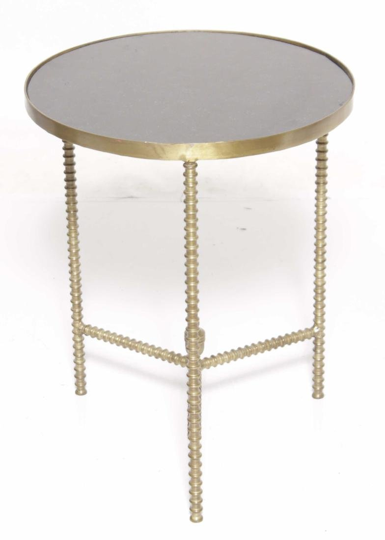 Mid C Brass Side Table - 6