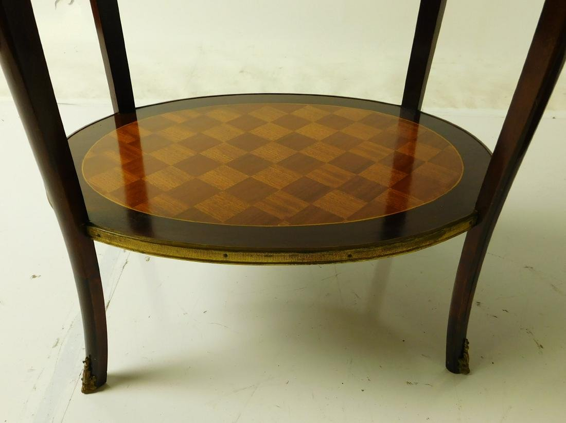 Pair Louis XVI Style Center Tables - 6