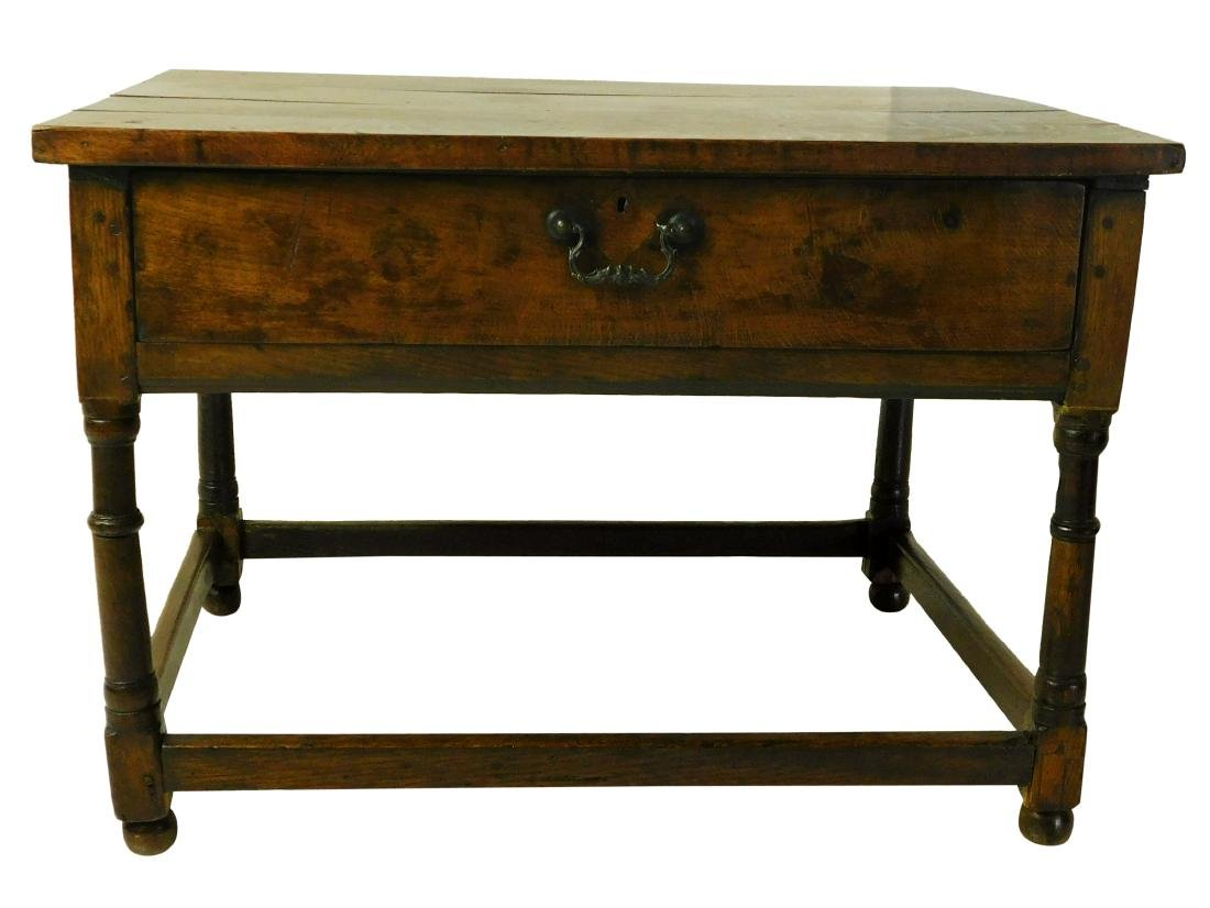 Antique William & Mary Style Sidetable