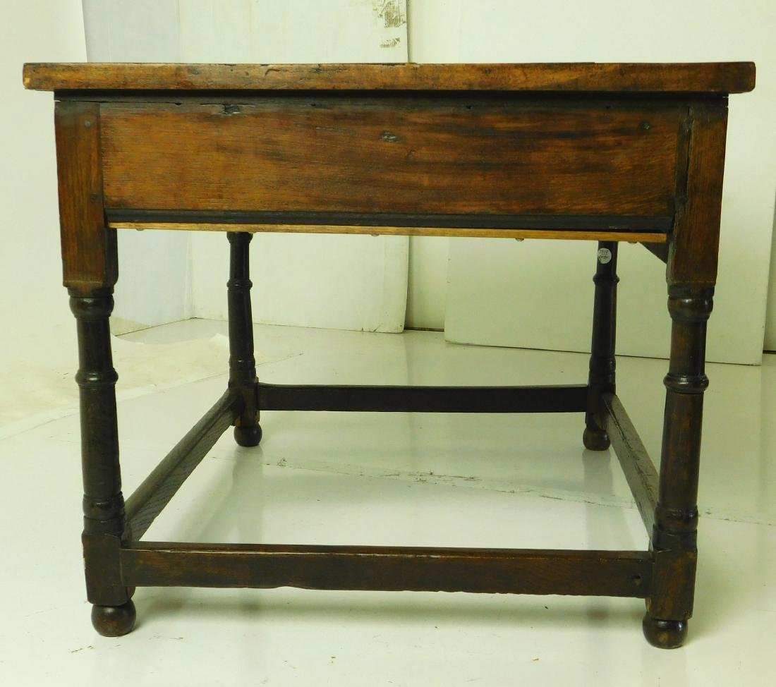 Antique William & Mary Style Sidetable - 3