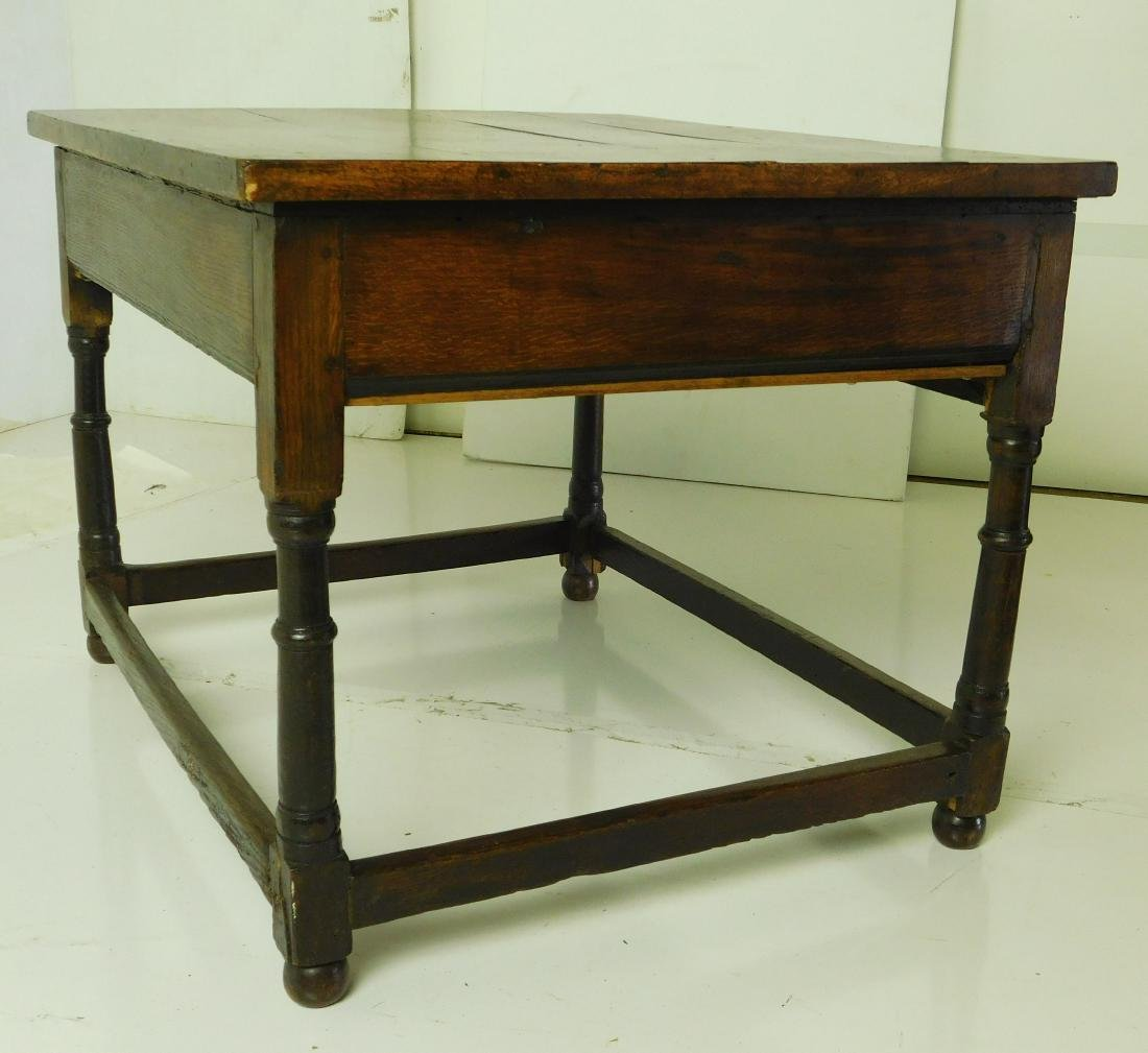 Antique William & Mary Style Sidetable - 4