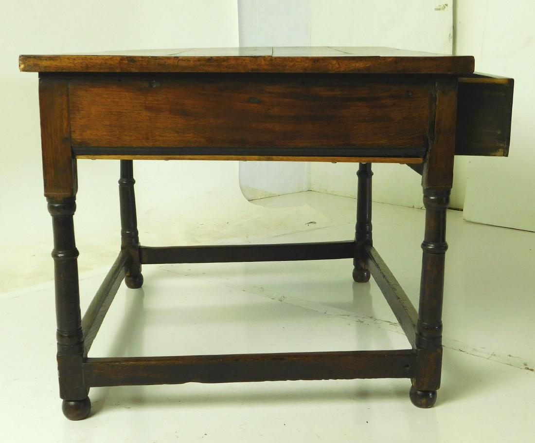 Antique William & Mary Style Sidetable - 5