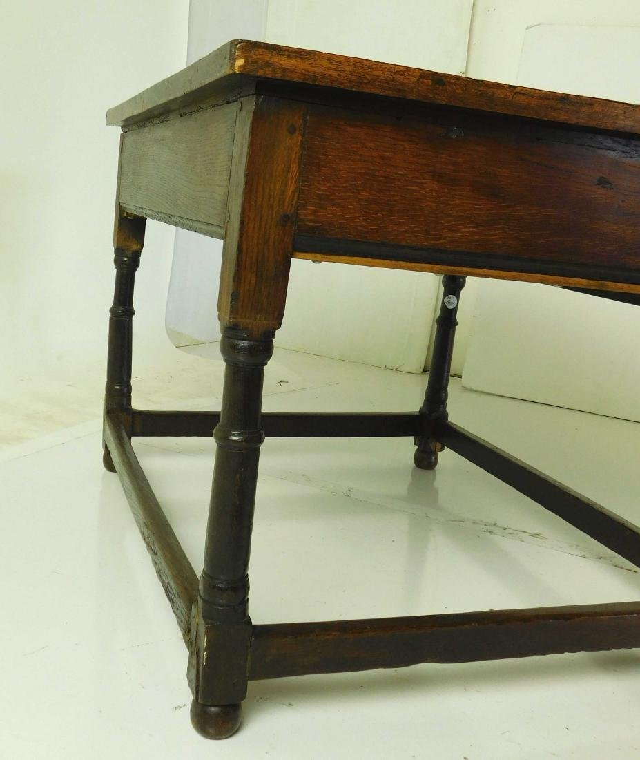 Antique William & Mary Style Sidetable - 6