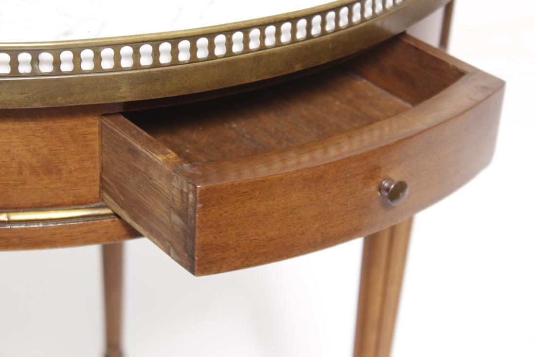 Louis XVI Style Bouillotte Table - 5