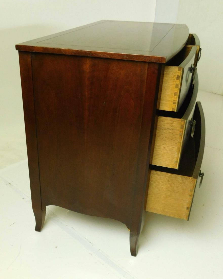 BAKER Furniture Co. Bow Front Chest - 3