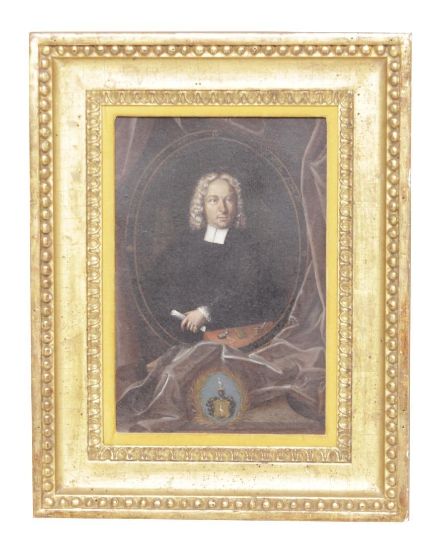 Kramer, Johann Leonhard, Portrait