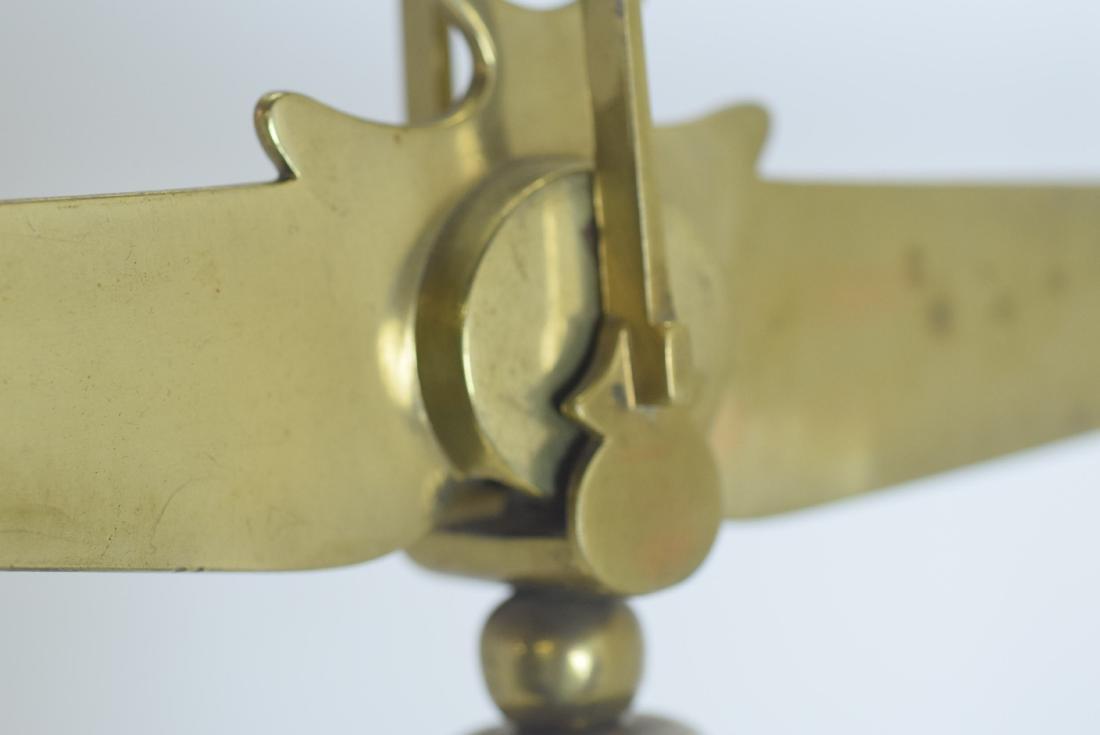 Antique Brass Scale - 7