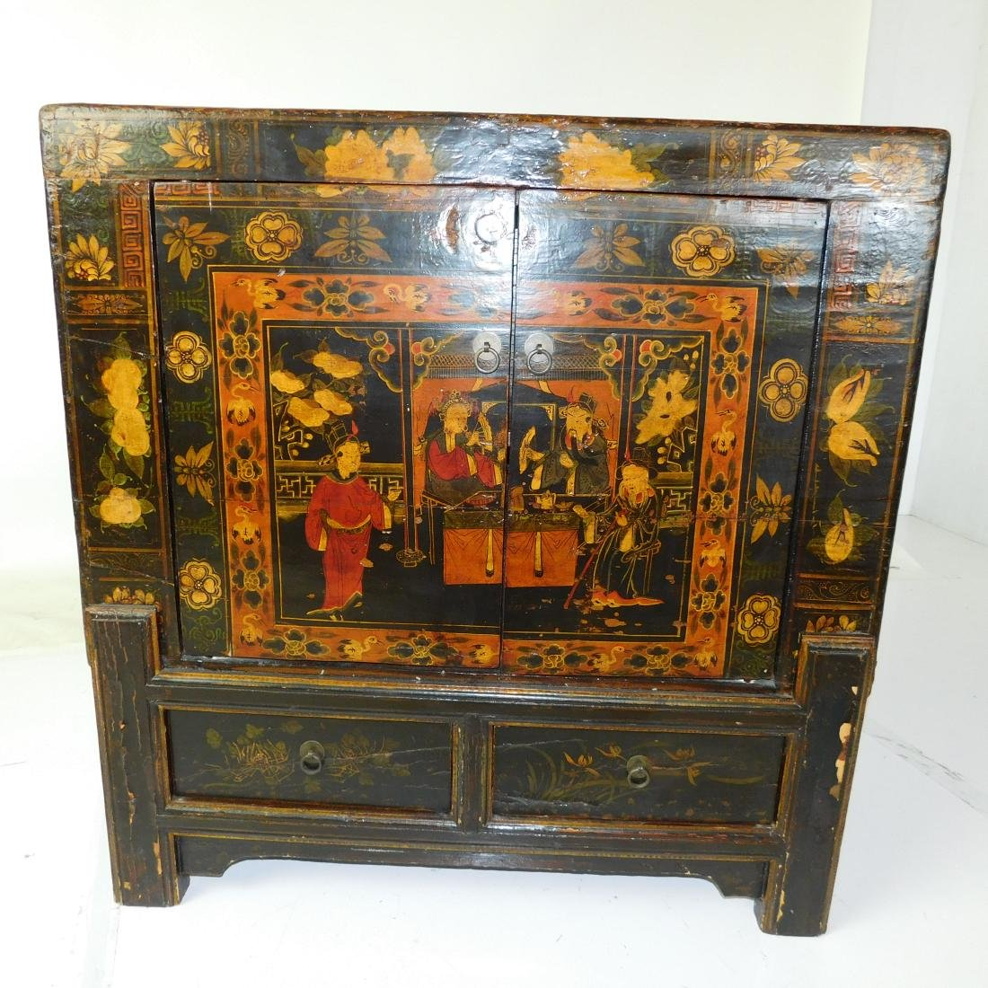 Antique Chinese Cabinet - 2