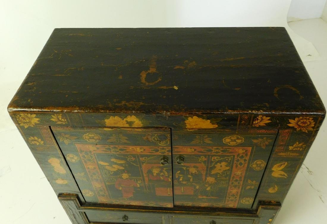 Antique Chinese Cabinet - 4