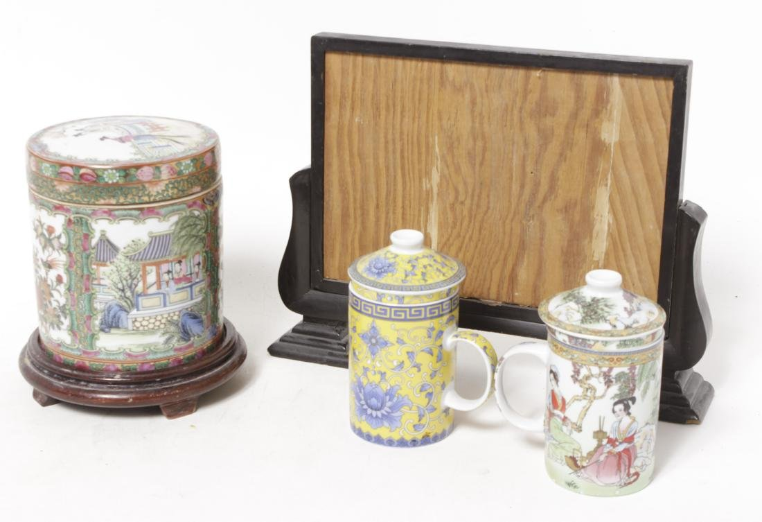 Four Chinese Porcelain Items - 12