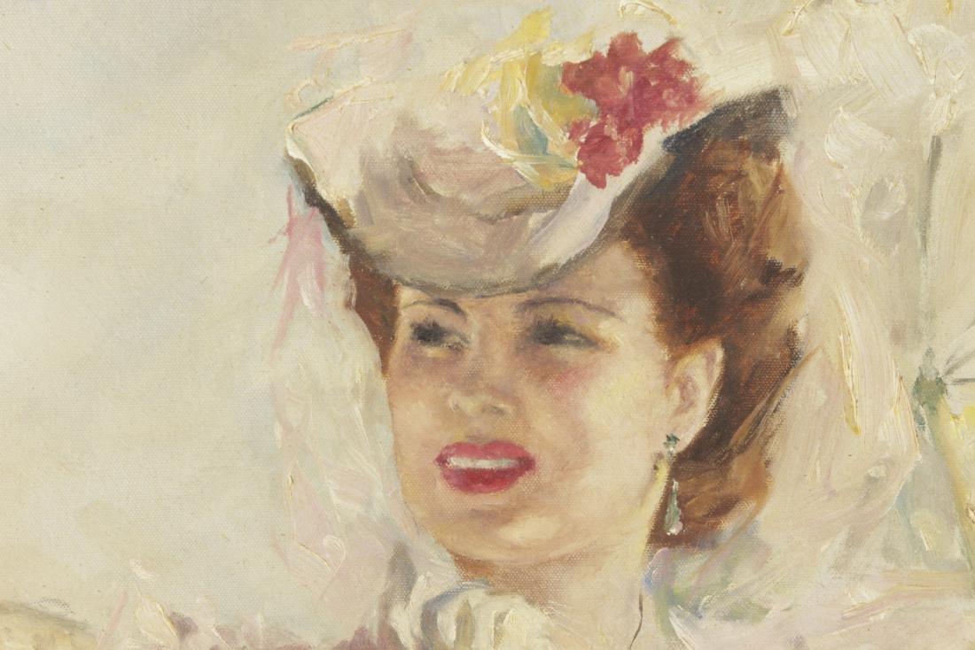 Fried, Pál (1893-1976) Parasol Girl - 2