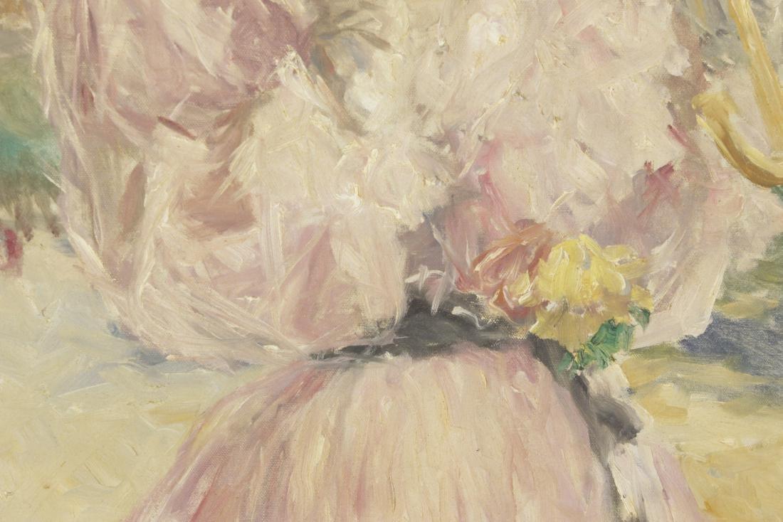 Fried, Pál (1893-1976) Parasol Girl - 6