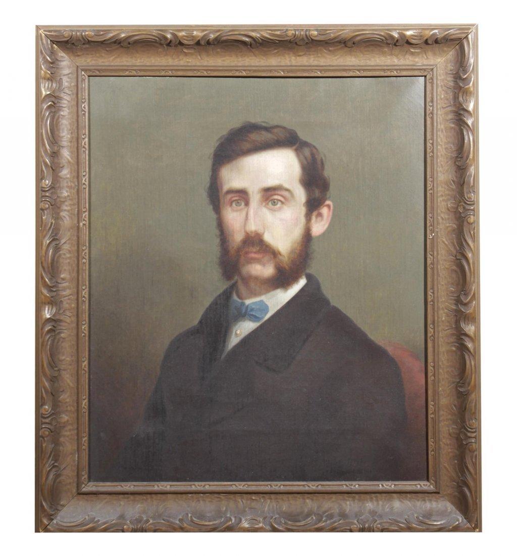 Beardsley, J. Portrait of Man with Blue Tie